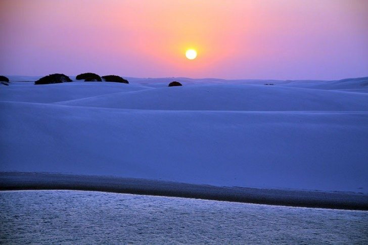 lencois-maranhenses-sunset