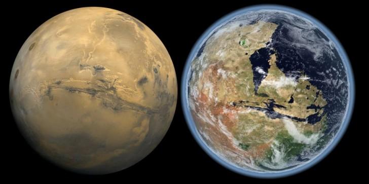 Mars posiadał kiedyś atmosferę umożliwiającą istnienia życia!