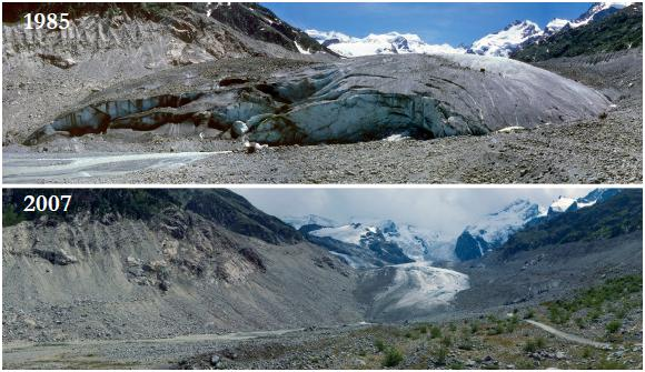 Morteratsch-Glacier-Alps