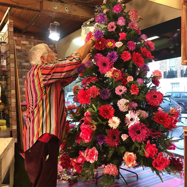 floral-christmas-tree-decorating-ideas-310