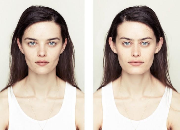 Jak wyglądałaby twarz, gdyby była idealnie symetryczna?