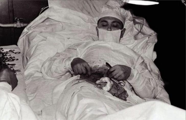 Operacja na własnym ciele - niesamowita historia radzieckiego lekarza