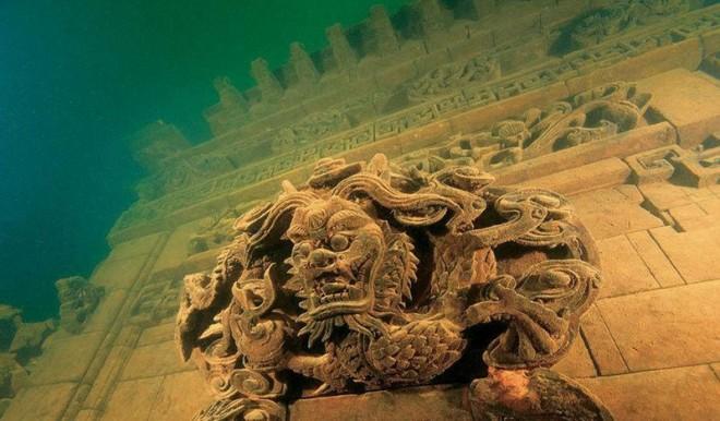 Zatopione ruiny starożytnych miast odkryte na nowo