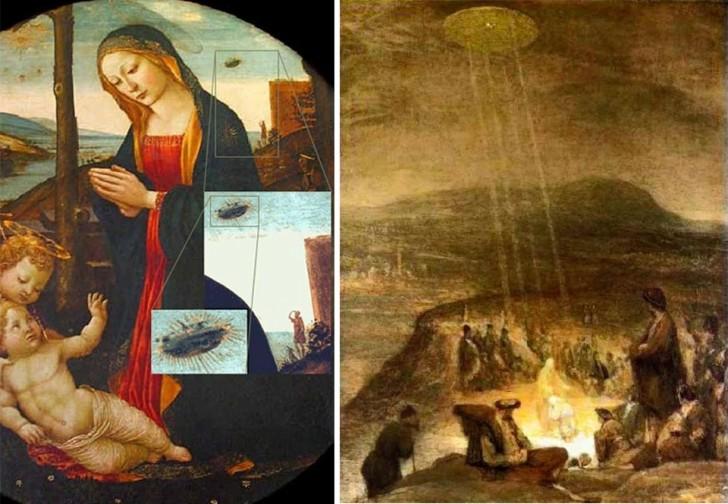 UFO w sztuce średniowiecza