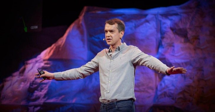 Harry Cliff na konferencji TED Talk