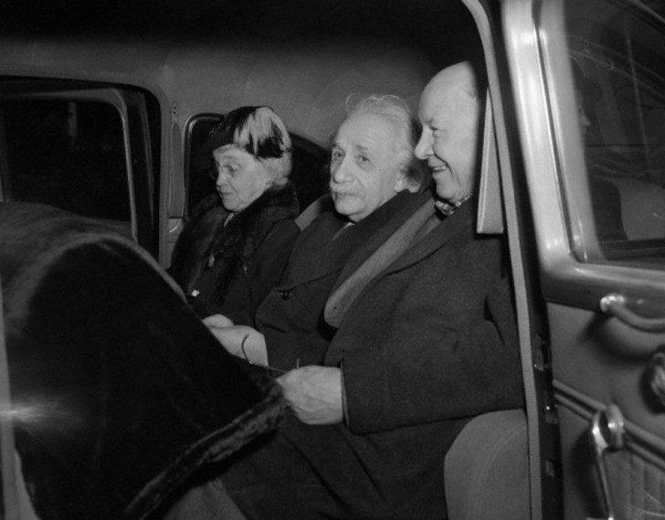 Einstein-Frank-Aydelotte-and-wife