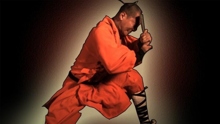 Wojownicy Shaolin w zwolnionym tempie