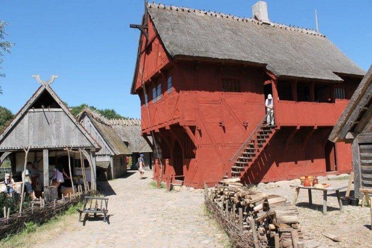 Middelalder-rødt-hus