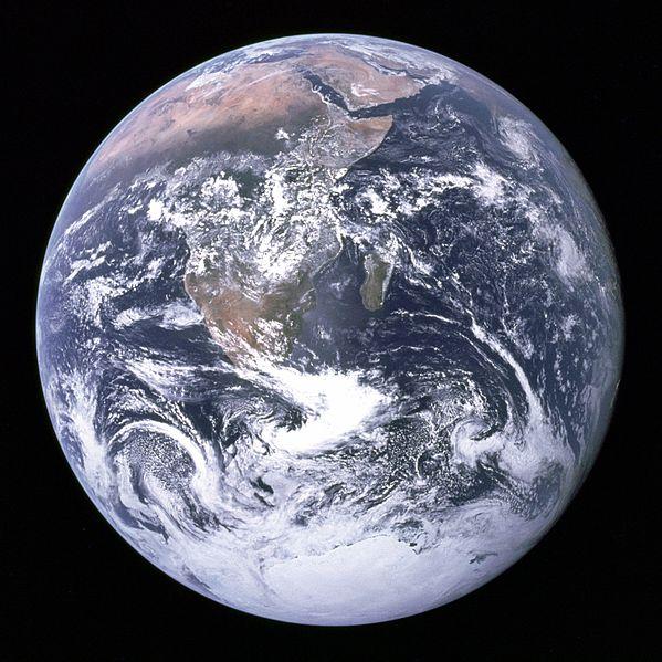 The Blue Marble. Zdjęcie wikipedia