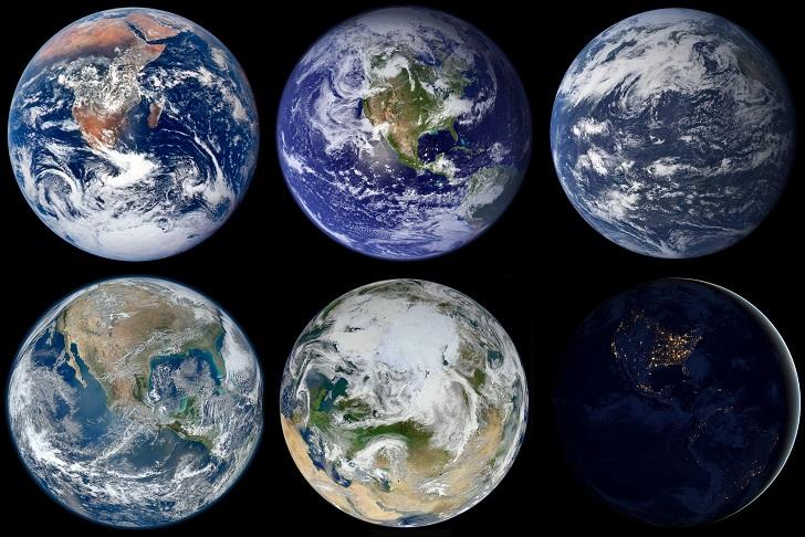 The Blue Marble - zdjęcia Ziemi widzianej z kosmosu