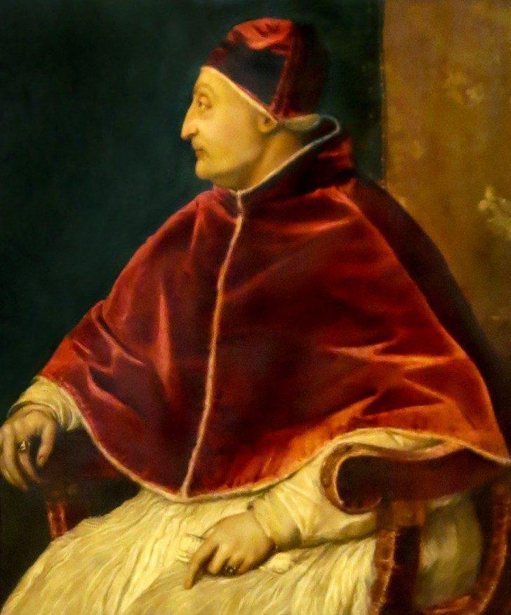 Portret papieża Sykstusa IV, autorstwa Tycjana.