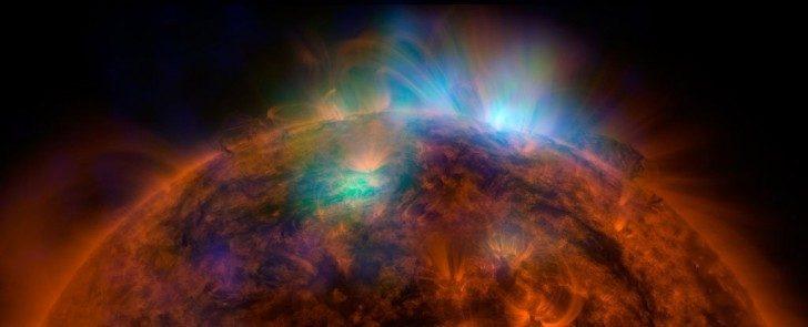 Promienie X. Źródło: NASA/JPL-Caltech/GSFC