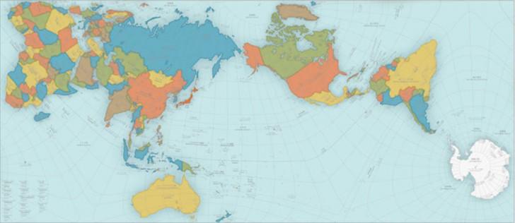 Tak wygląda poprawna mapa Ziemi