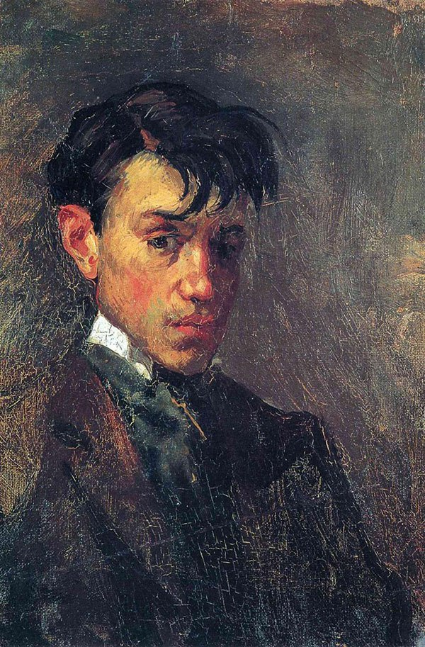 picasso-self-portrait-15-years-old-1896