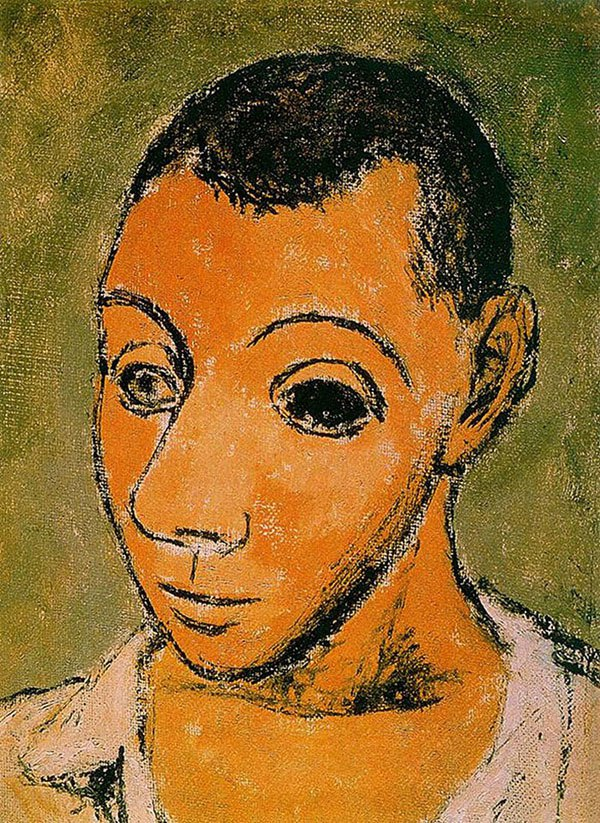 picasso-self-portrait-24-years-old-1906