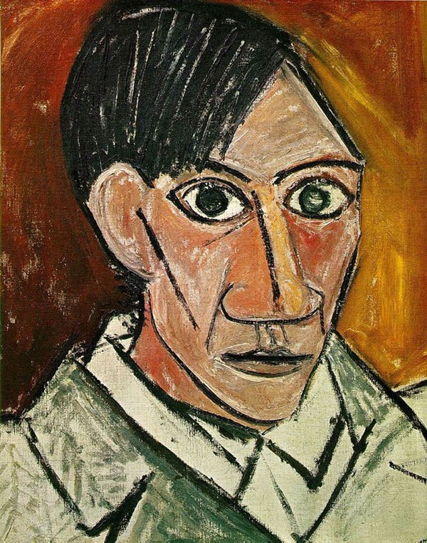 picasso-self-portrait-25-years-old-1907
