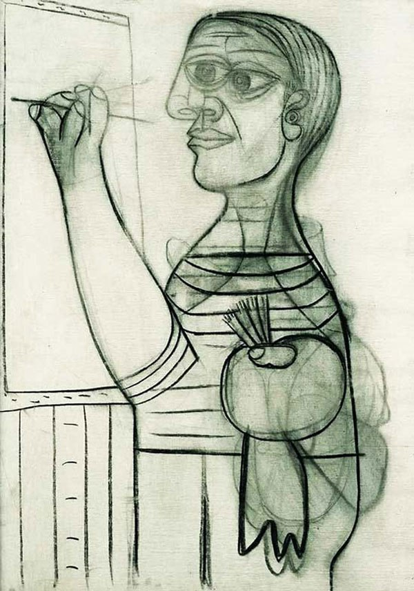 picasso-self-portrait-56-years-old-1938