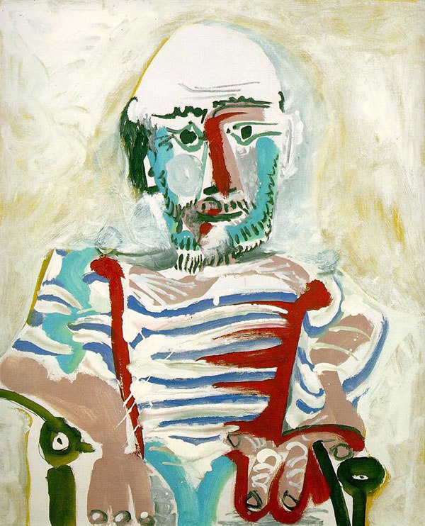 picasso-self-portrait-83-years-old-1965