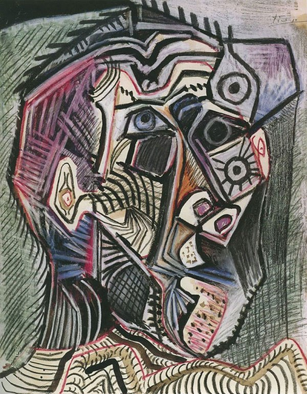 picasso-self-portrait-90-years-old-june-28-1972