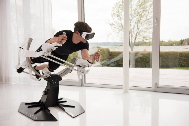 Domowy trening w wirtualnej rzeczywistości