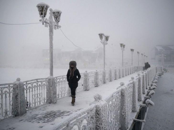 Ojmiakon – jak żyć w temperaturze -50 stopni?