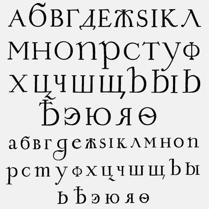 Cyrylica czy grażdanka? Jakim alfabetem posługują się dzisiejsi Rosjanie?