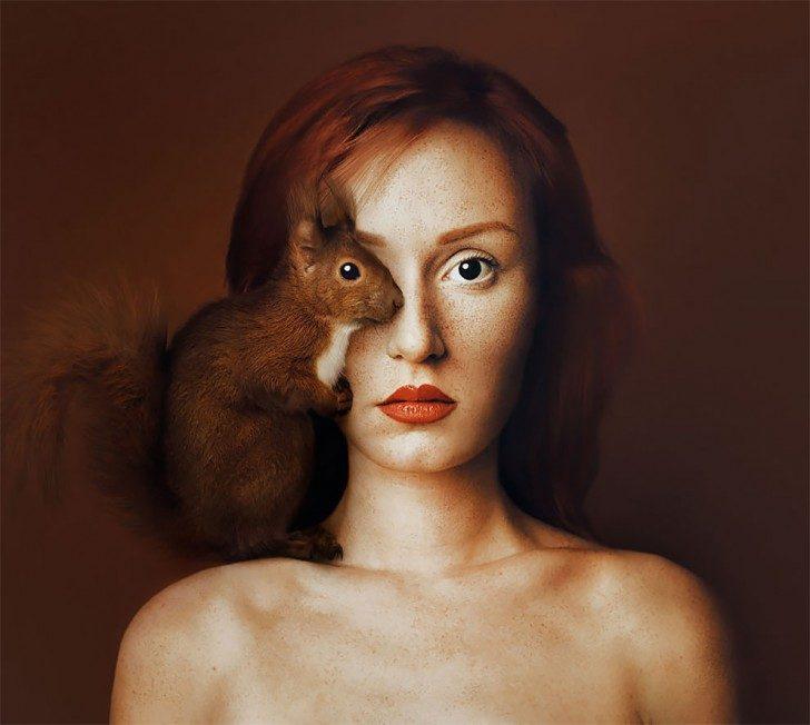 Ludzkie czy zwierzęce oczy?