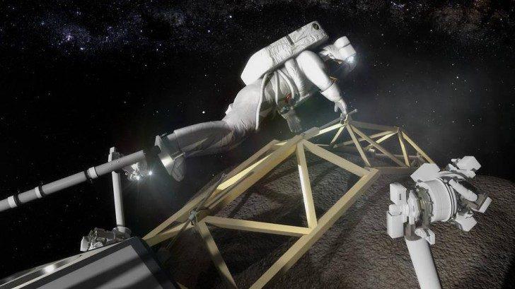 Chiny planują wysłanie ludzi na asteroidę