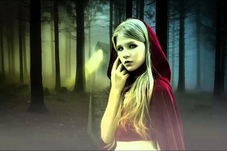 Czerwony Kapturek to drastyczna historia o dojrzewaniu oraz wciąż aktualna przestroga dla młodych dziewcząt