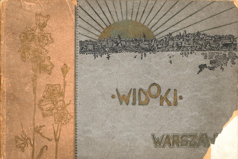 Ciekawe.org Widoki Warszawy 1899 r. Okładka