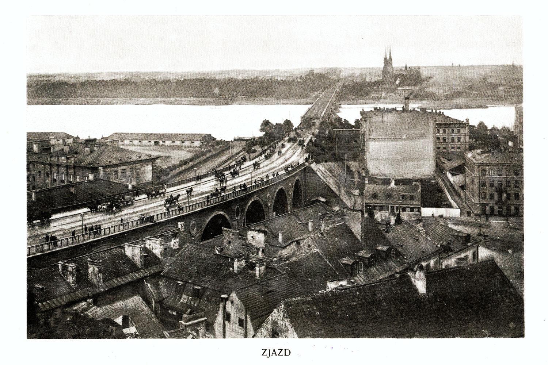 Ciekawe.org Widoki Warszawy 1899 r. Zjazd