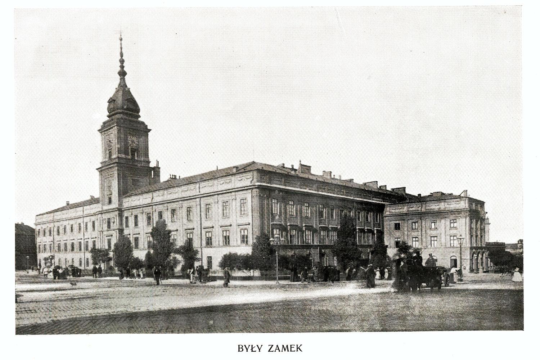 Ciekawe.org Widoki Warszawy 1899 r. Były Zamek