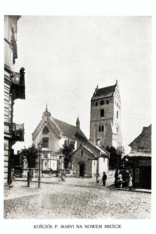 Ciekawe.org Widoki Warszawy 1899 r. Kościół Panny Maryi na Nowym Świecie