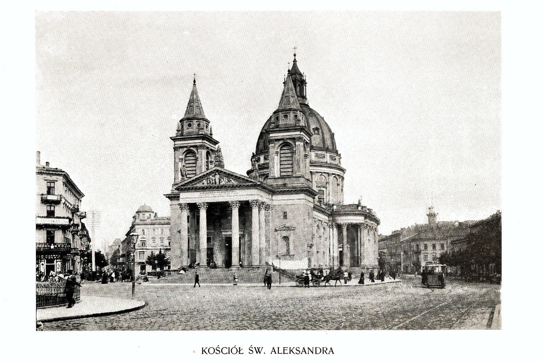Ciekawe.org Widoki Warszawy 1899 r. Kościół Św. Aleksandra