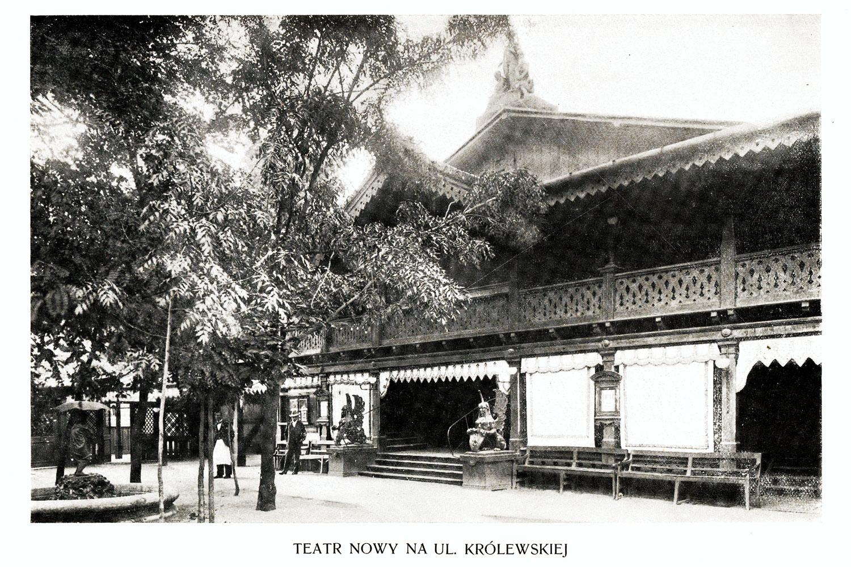 Ciekawe.org Widoki Warszawy 1899 r. Teatr Naukowy na ul. Królewskiej
