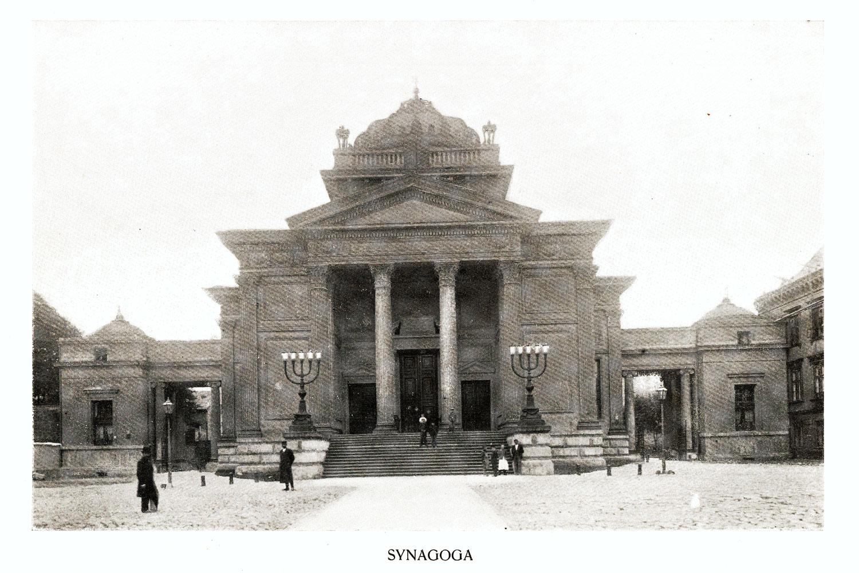 Ciekawe.org Widoki Warszawy 1899 r. Synagoga