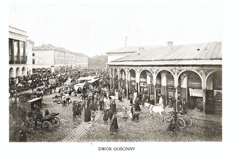 Ciekawe.org Widoki Warszawy 1899 r. Dwór Gościnny
