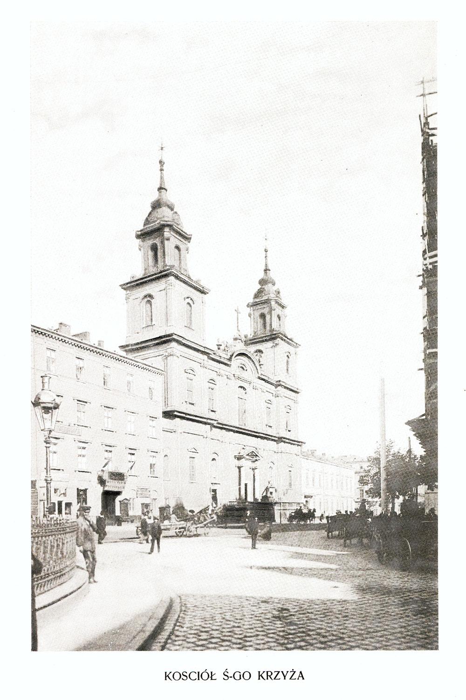 Ciekawe.org Widoki Warszawy 1899 r. Kościół Świętego Krzyża
