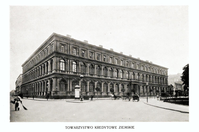 Ciekawe.org Widoki Warszawy 1899 r. Towarzystwo Kredytowe Ziemskie