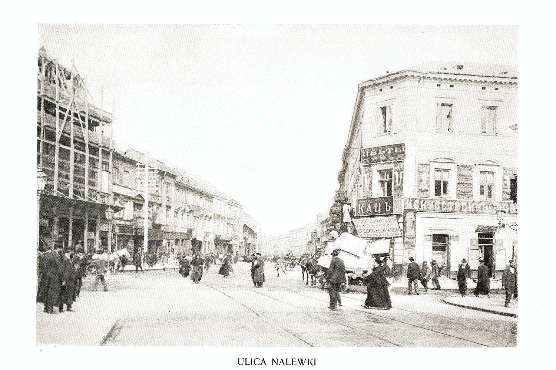 Ciekawe.org Widoki Warszawy 1899 r. Ulica Nalewki