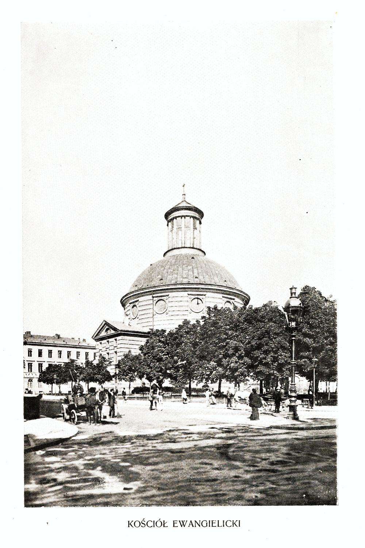 Ciekawe.org Widoki Warszawy 1899 r. Kościół Ewangelicki