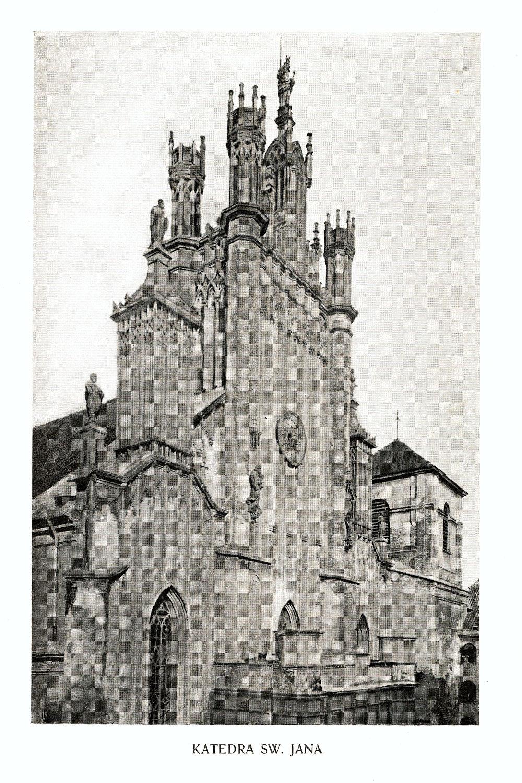 Ciekawe.org Widoki Warszawy 1899 r. Katedra Św. Jana