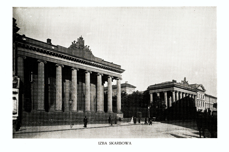Ciekawe.org Widoki Warszawy 1899 r. Izba Skarbowa