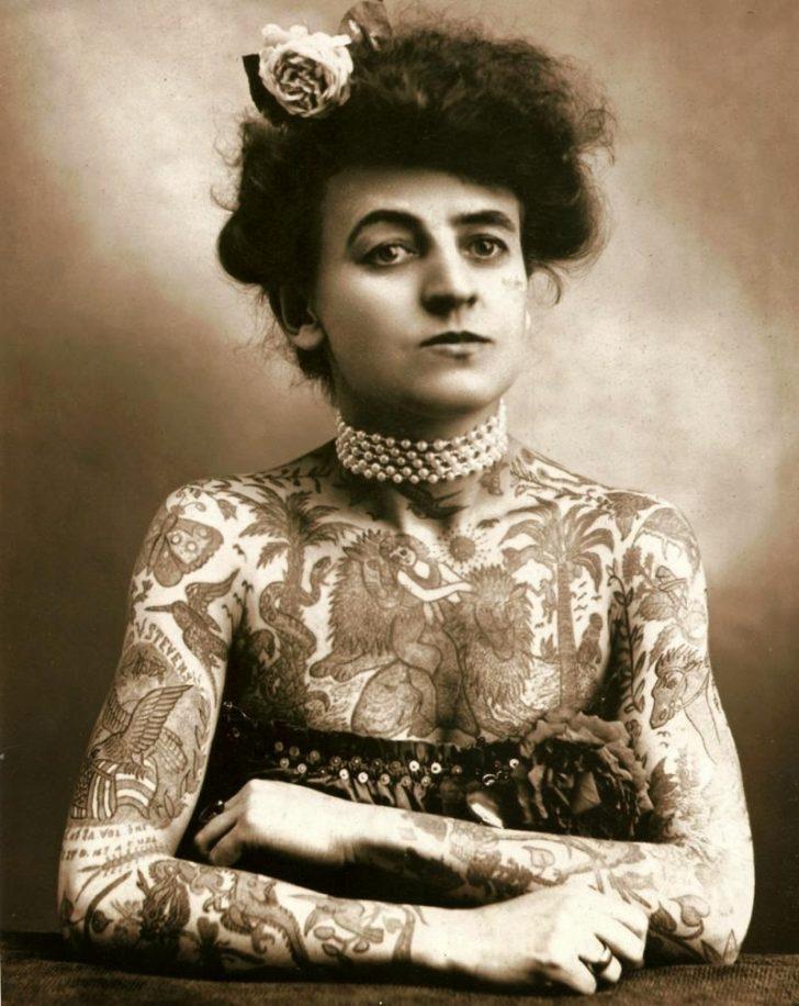 Maud Wagner Kobieta Która Wytatuowała Swoją Historię