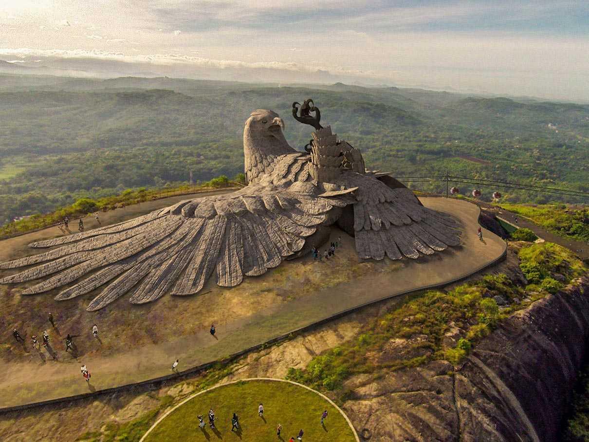 Największa ptasia rzeźba na świecie