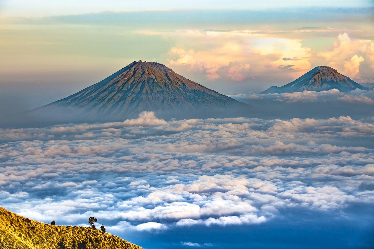 Góry Sumbing, Jawa
