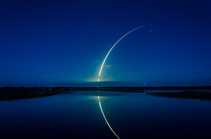 Start rakiety z Przylądka Canaveral
