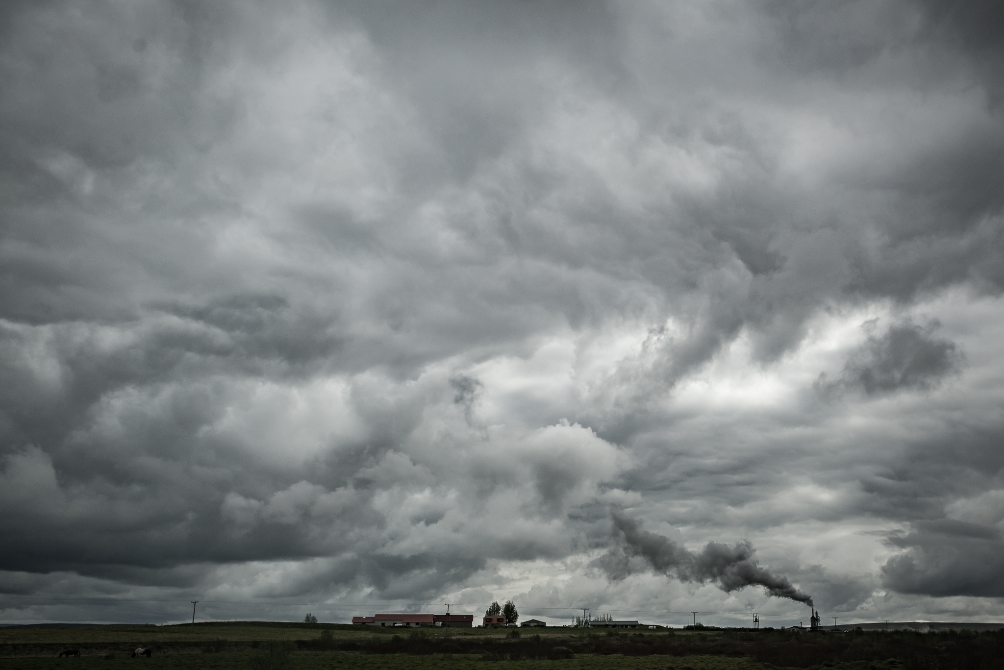 Islandzka fabryka kumulusów
