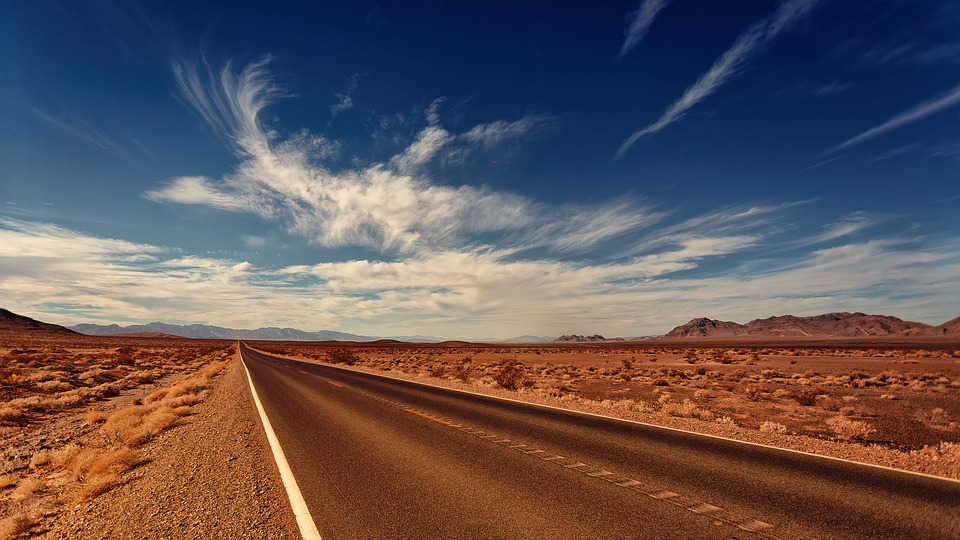 Droga w Nevadzie