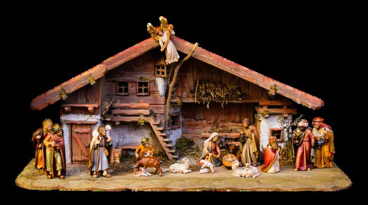 przykład szopki Bożonarodzeniowej
